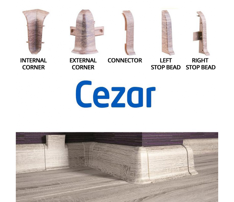 Accesories for Premium skirting boards