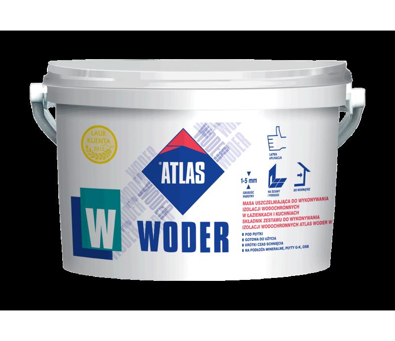 ATLAS WODER W - elastic one-component damp proofing 4.5kg
