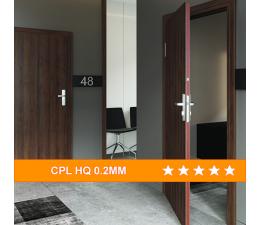 Drzwi Przeciwpozarowe EI30/EI60 CPL HQ 0.2mm