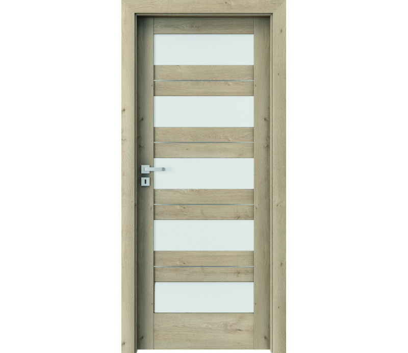 DOOR SET Verte Home C.5 int classic oak + frame 75 - 95mm