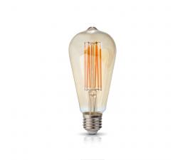 LED FST64 6W E27 BULB