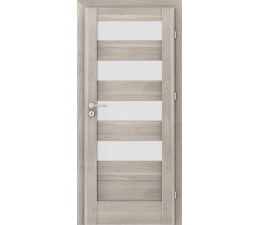 DOOR SET Verte Home C.4 silver acacia '60' + frame 95 - 115mm