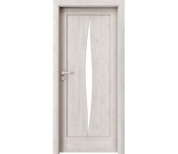 DOOR SET Verte Home E.5 scandinavian oak '70' + frame 75 - 95mm
