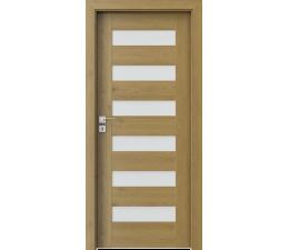 DOOR SET Porta Concept C.6 natural oak '70' + frame 120-140mm