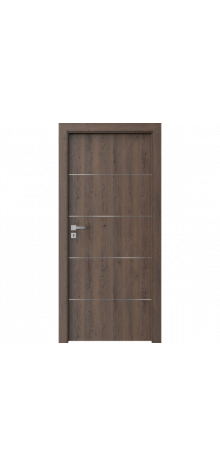 DOOR SET Porta Resist E.1 gladstone dark oak '70' + frame 95-115mm