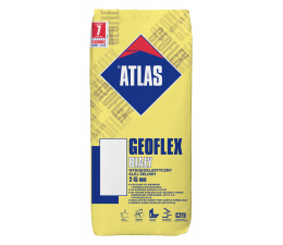 ATLAS GEOFLEX WHITE - highly flexible gel adhesive 2-15 mm (C2TE type)