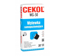 Cekol WG-50 Self-levelling compound