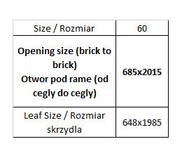 Porta Vector Premium model A