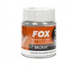 FOX Brokat 10g Srebrny