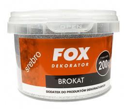 FOX Brokat 200g Srebrny