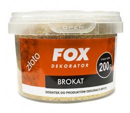 FOX Glitter 200g Gold