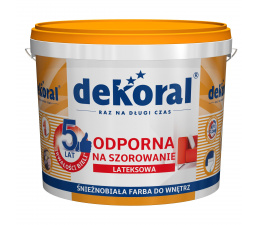 Dekoral Washable 10l White...