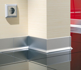 Silver Aluminium Skirting...