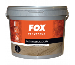 FOX Decorative Varnish 3l