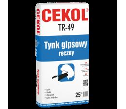 Cekol TR-49 One coat gypsum...