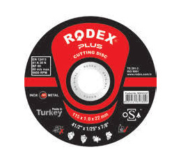 Rodex Inox Cutting Disc 115mm