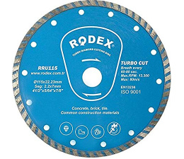 Rodex Turbo Diamond Cutting...