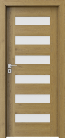 DOOR SET Porta Concept C.6 natural oak '70' + frame 120-140mm