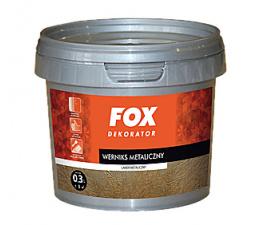 FOX Werniks metaliczny 0.3l