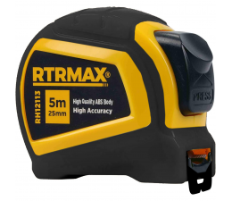 Measuring tape RTRMAX Black...