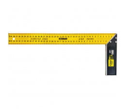 """L"" Type Steel Ruler Yellow..."