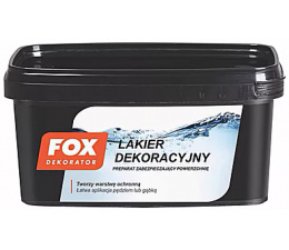 FOX Decorative Varnish 1l