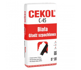 Cekol C-45 White gypsum filler 5kg