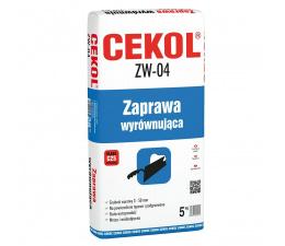 Zaprawa wyrównująca Cekol ZW-04 5 kg