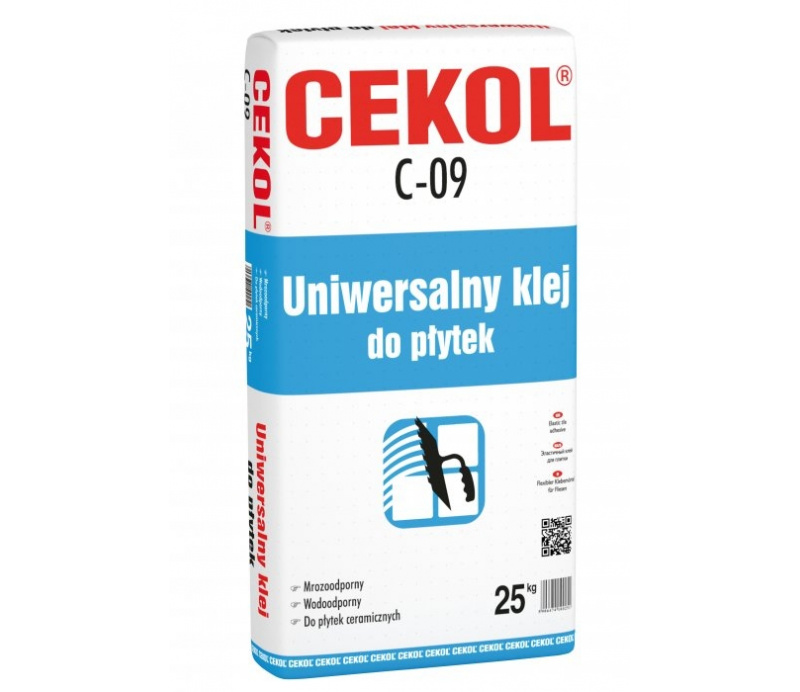 Cekol C-09 Tile adhesive (42pp) 25kg