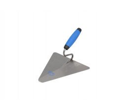Steel triangular masonary trowel 200x190