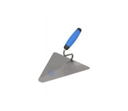 Steel triangular masonary trowel 200x190
