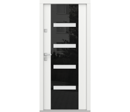 Porta Eco POLAR model C.4 Glazed Panel