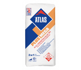 ATLAS PLUS MEGA - deformable S1 adhesive for large size floor tiles - 25kg