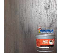 FOX Efekt szczotkowane aluminium zestaw na 10m2