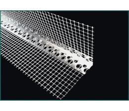 Corner aluminium with mesh 2,5 m