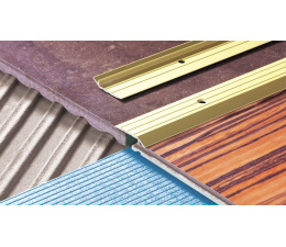 Slanted transition strip LPS