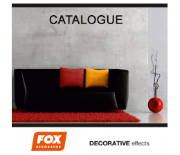 Katalog efektow FOX Dekorator