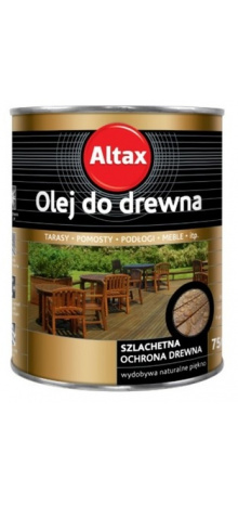Altax oil for wood 0.75L