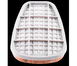 Półmaska ochronna wielokrotnego użytku, z podwójnym filtrem