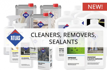 New Removers, Cleaners and Sealants from Atlas